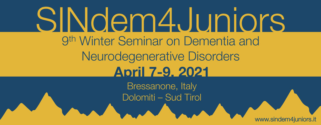 7th Winter Seminar on Dementia - January 23-25, 2019<br />Bressanone, Italy<br />Dolomiti - Sud Tirol